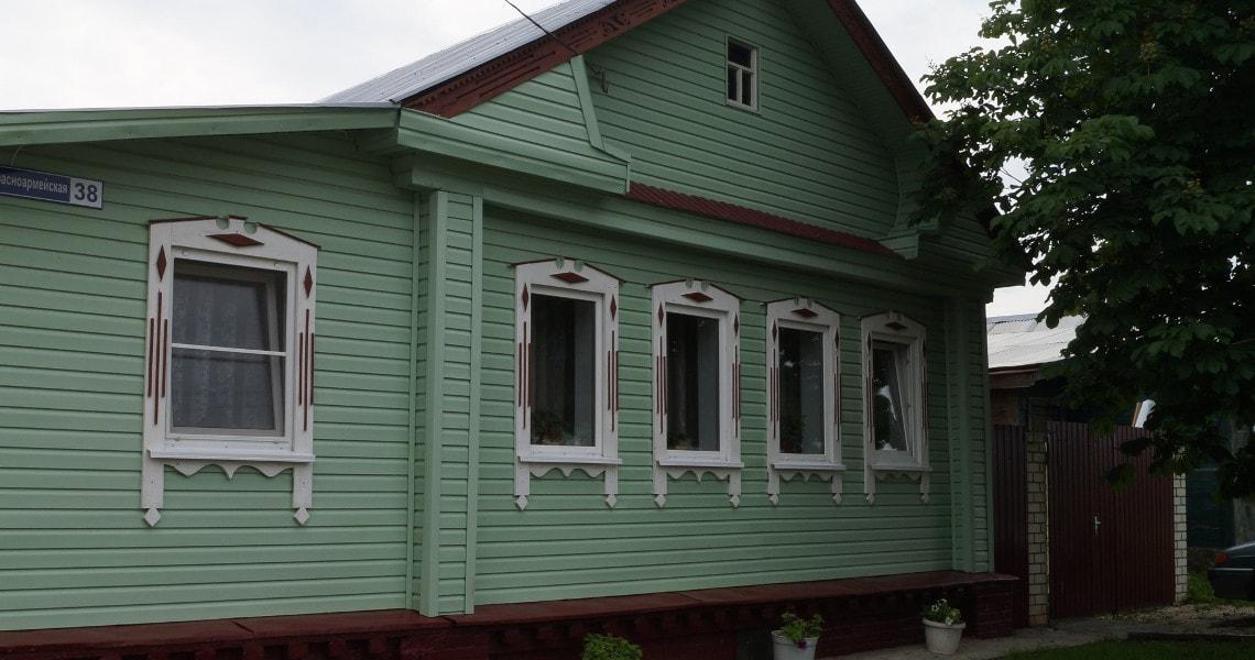 Коттедж на Красноармейской гостевой дом в Суздале